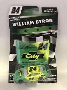NASCAR Authentics 2019 Wave 11 William Byron #24 City Hendrick CAMARO 1/64 Scale
