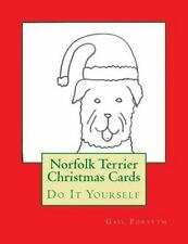 Norfolk Terrier Christmas Cards : Do It Yourself by Gail Forsyth (2015,.