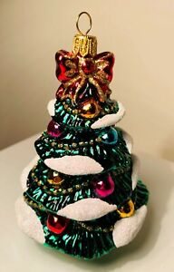 Christmas Tree Ornament Decoration Bauble Hand Made Ornament