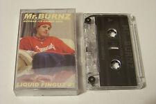 MR BURNZ - LIQUID FINGUZ #1 PROMO TAPE / KASSETTE (Guru Tolga Eminem Masta Ace)