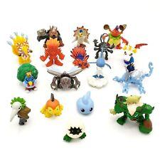 Digimon Lot 17 Mini Figures Azulongmon Kyubimon Egg Vintage Bandai 1998 2001