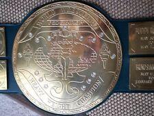 BIG GREEN World Wide Wrestling Heavyweight Champion Belt Adult size