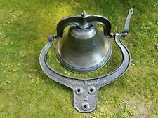 Crystal Metal 1886 #3 Cast Iron Bell