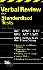 Verbal Review for Standardized Tests by Peter Z. Ort...