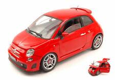 Modellino Auto scala 1/18 diecast FIAT 500 ABARTH modellismo collezione coche