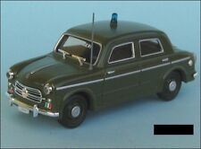 Fiat 1100-103 - Carabinieri - Green 1:43 Scale Die Cast Model Car New