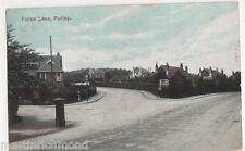 Purley, Furze Lane, 1907 Surrey Postcard, B456