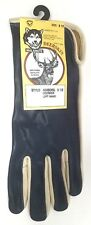 James Churchill Glove Co. Bull Riding Glove Deer Skin LH Size 8 1/2 BLUE NWT!