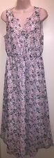 "LC by LAUREN CONRAD Women's Floral Shirttail-Hem Maxi Dress""BLYTHE BLOOMS""12 NWT"