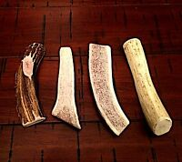 Sale! Antler Dog Chew Treats! 1 Pound Split Small Elk/Deer Mix Antler Dog Chews!