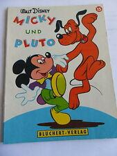 1x, cómic Walt Disney-Mickey y Pluto (nº 15) (blüchert Verlag)