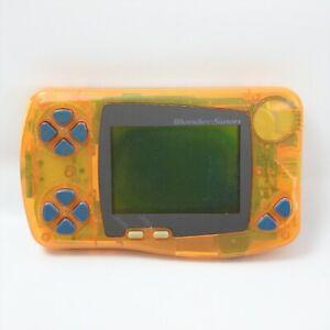 JUNK WONDER SWAN Digimon Orange Console SW-001 Not working 2509 Bandai ws