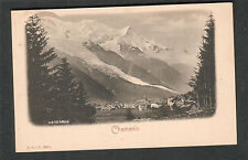 France unmailed post card Chamonix 4810 Mtrs