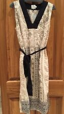 New ANTHROPOLOGIE HD in Paris Maxi Dress Multi Neutral Size 6P $138 Stunning !!