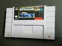 Nigel Mansell's World Championship Racing (SNES, 1991)