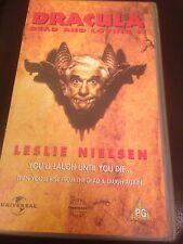 DRACULA DEAD AND LOVING IT VIDEO VHS RARE SPOOF COMEDY HORROR LESLIE NIELSEN