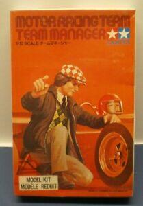"TAMIYA 12th scale Motor Racing Team Mechanic ""Team Manager"" Kit # RM1205 SEALED"