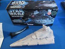 Star Wars Collector Fleet Star Destroyer Kenner Vehicle Opened Box