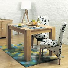 Salisbury oak home furniture small four seater dining table
