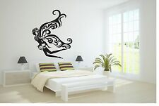 Wall Vinyl Sticker Decals Art Decor Beautiful Butterfly Woman Girl Fairy #174