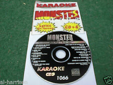 KARAOKE MONSTER HITS CD+G MALE POP/ROCK HITS #1066
