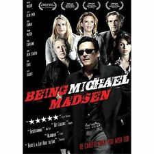 BEING MICHAEL MADSEN Blu-ray Disc UNRATED stars tabloid BRAND NEW BLU RAY