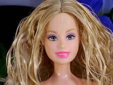 Fashion Fever Summer Face Barbie Ballerina Bellybutton Pink Legs Valentine Dress