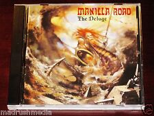 Manilla Road: The Deluge CD 2011 Shadow Kingdom Records USA SKR043CD NEW