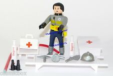 Figurine AIRGAMBOYS brancardier figure Airgam air gam boy playmobil médecin new