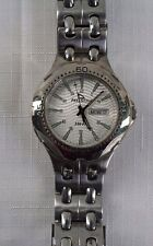 Men's Freestyle Quartz Watch Stainless Steel Night Vision Analog 330 Ft.