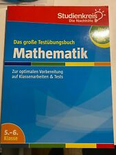 Studienkreis Testübungsbuch Mathematik 5. - 6. Klasse