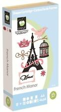 New Cricut French Manor Cartridge first edition . free shipping HTF