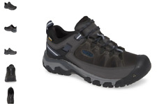 Keen Targhee III WP Steel Grey Captains Blue Boot Hiker Men's sizes 7-17 NEW!!