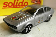 Solido SCALA 1/43 VINTAGE 1305 ALFA ROMEO ALFETTA GTV conigli Modello Diecast Auto