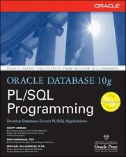 Oracle Press: Oracle Database 10g PL/SQL Programming by Ron Hardman, Lisa...