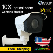2MP PTZ 10x Optical Zoom IP Camera Outdoor 1080P IR TF Card Slot (Without POE)**