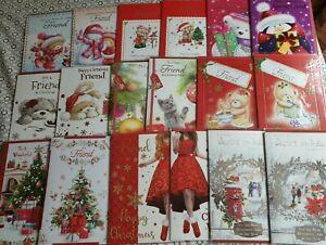 Christmas Cards - Friend, Special Friend, Good Friend (standard post)