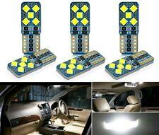 T10 W5W 501 Canbus Libre De Error Xenon Blanco LED Luz Lateral Número De Matrícula Bombilla