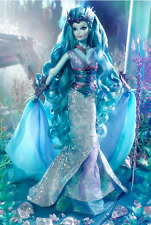 Water Sprite Gold Label Barbie Doll, Faraway Forest, New In Box & 2016 Catalog