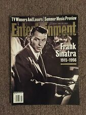 FRANK SINATRA ENTERTAINMENT WEEKLY MAGAZINE MAY 29, 1998 TRIBUTE EDITION