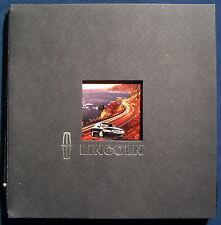Prospekt brochure 1998 Lincoln Navigator * Continental * Mark VIII * Town Car