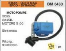 BOBINA MOTOPOMPA EMAK OLEO MAC EFCO DYNAMAC SC55 SA45TL MOTORE S100 S 100