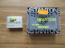 Stanton DJ Pro 505 SK cartridge + replacement needle scratch DJ NEW / RARE