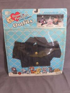 New Vintage Pound Purries Outfits Denim Jacket by Tonka 1986 Pound Puppies 7841