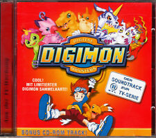 CD - Digimon - Soundtrack Vol. 1 (gut)