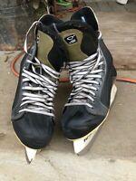 Men's Nike Quest Tuik Custom Ice Hockey Skates Size 11 D