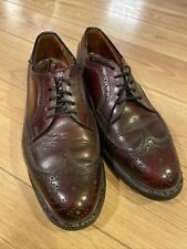 Quoddy Shoes BROWN Size 9 D Handmade  Boat Drivers