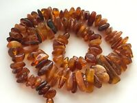 Natural Vintage Amber Beads Antique Baltic Old Necklace 66,69 gr.