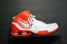 Nike Shox Elite TB Basketball Sneaker '06 Multi White Orange Tennessee Men 9
