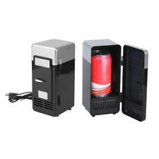 Mini Coche Nevera Portátil Lata Enfriador Bebida Comida Viaje USB Congelador
